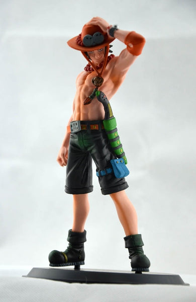 Luffy x Ace - One Piece Action Figure - Anime Printed
