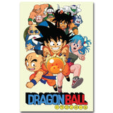 The Beginning - Dragon Ball Canvas Printed Wall Poster - Anime Printed