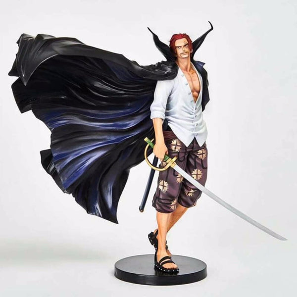 Red Hair Shanks Essential - One Piece Action Figure - Anime Printed