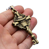 Whitebeard Emblem Key - One Piece Necklace - Anime Printed