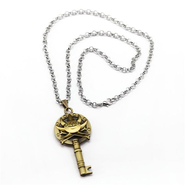 Thousand Sunny Key - One Piece Necklace - Anime Printed