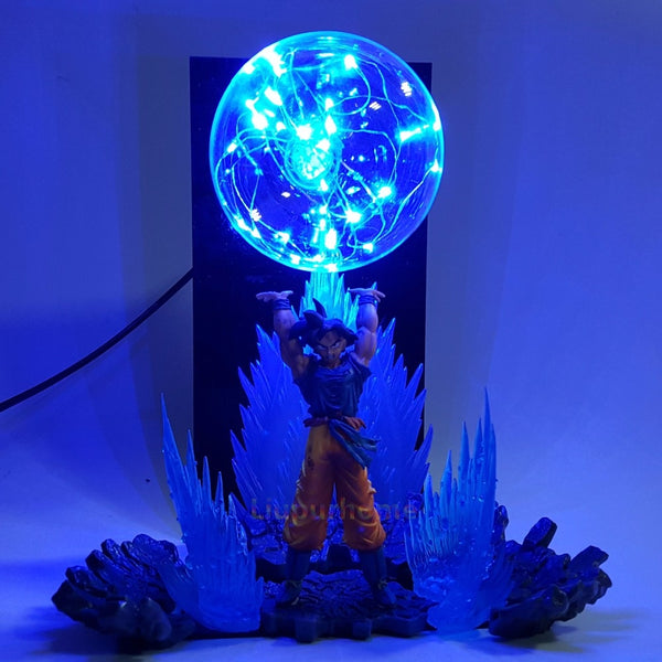 Goku Spirit Bomb - Dragon Ball LED Lamp - Anime Printed