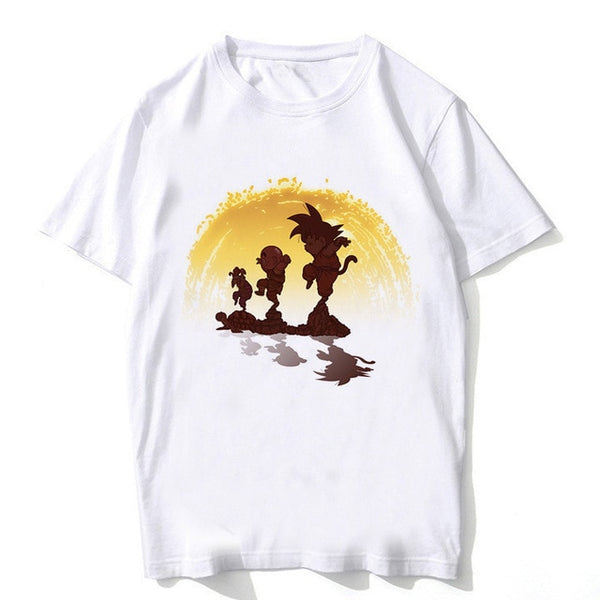 Chibi Goku Kung Fu - Dragon Ball T-Shirt - Anime Printed