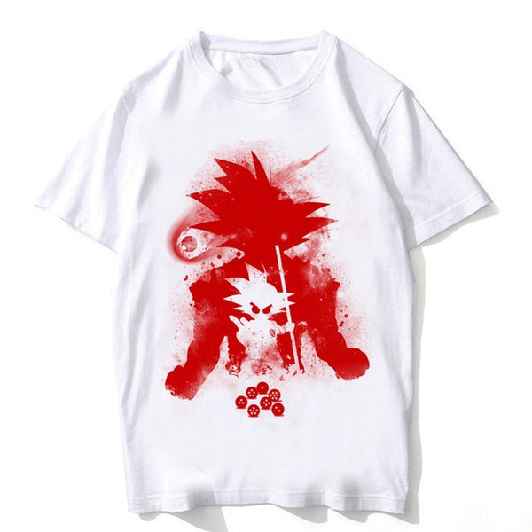 Goku's Inside Out - Dragon Ball T-Shirt - Anime Printed