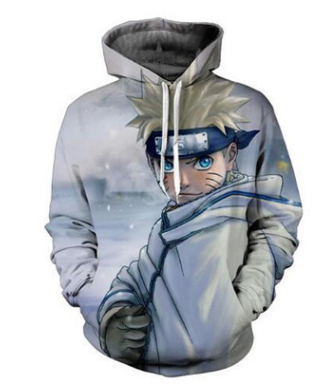 Naruto Winter Solitude - Naruto Hoodie - Anime Printed