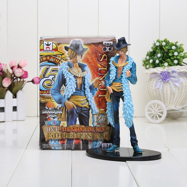 Sanji 15th Anniversary - One Piece Action Figure - Anime Printed