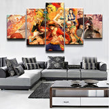 Strawhat Crew Reborn - One Piece Canvas Printed Wall Poster - Anime Printed