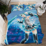 Song of the Sea - Hatsune Miku Bed Sheet - Anime Printed