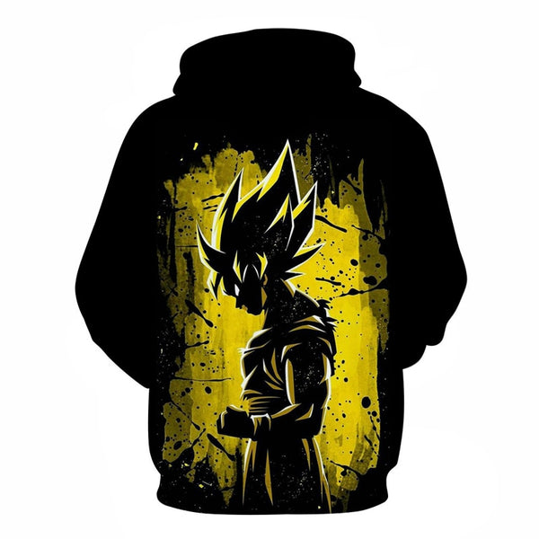 Goku's Eternal Legend - Dragon Ball Hoodie - Anime Printed
