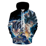 Goku x Vegeta - Dragon Ball Hoodie - Anime Printed