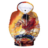 Luffy's - Battle Mode - One Piece Hoodie - Anime Printed