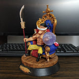Edward Newgate Whitebeard - One Piece Action Figure - Anime Printed