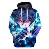 Uchiha Sasuke Final Battle - Naruto Hoodie - Anime Printed
