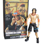 Ace Pose - One Piece Action Figure - Anime Printed