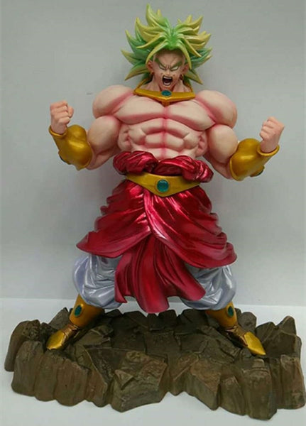 Broly Legendary SSJ Enraged - Dragon Ball Action Figure - Anime Printed