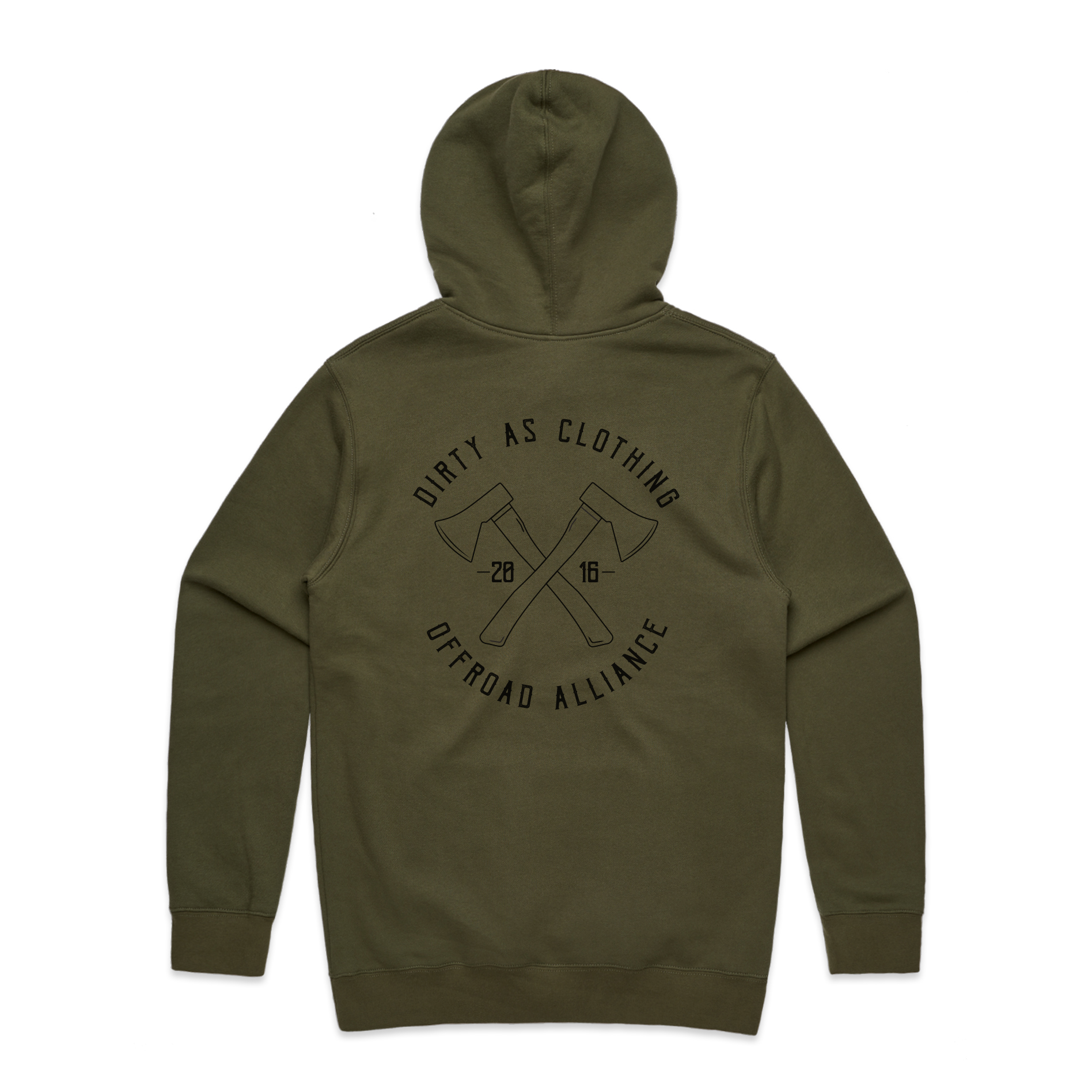 Offroad Alliance Hoodie - Dirty As Clothing