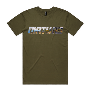 Craig's Hut Tee - Dirty As Clothing