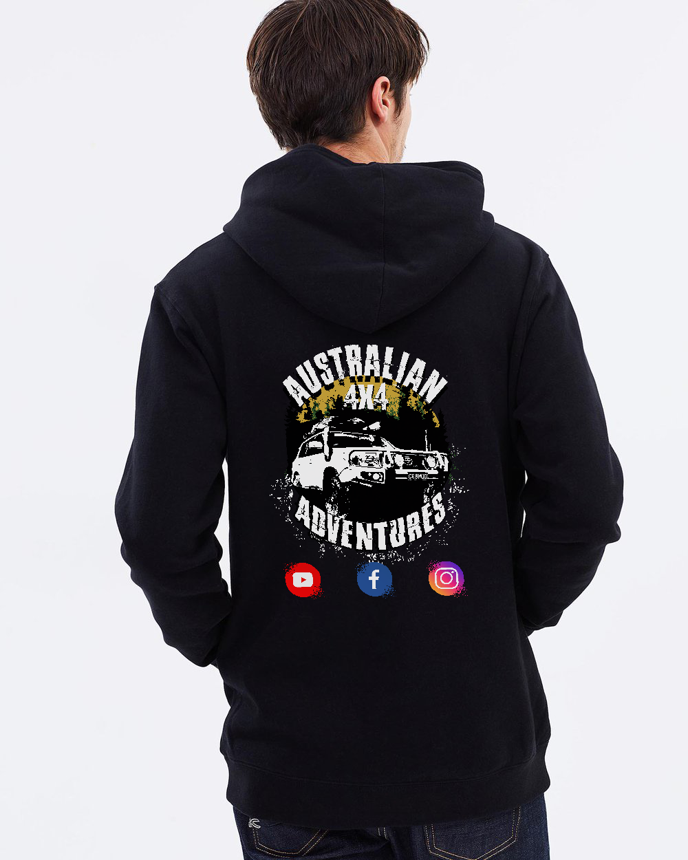 Australian 4x4 Adventures - Hoodie - Dirty As Clothing