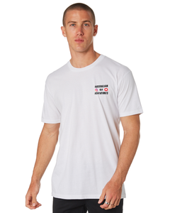 Australian 4x4 Adventures - Tee - White - Dirty As Clothing