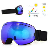 Ski Goggles UV400 Anti-Fog Italian Lenses - Super Swag Daddy