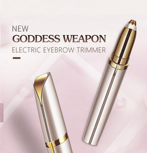 Ultra Brows® Eyebrow Trimmer | Facial Hair Remover | Instant Painless Eyebrow Epilator