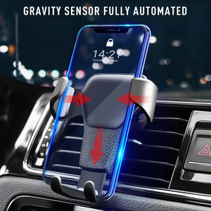 Universal Car Phone Stand Gravity Sensor Support Holder