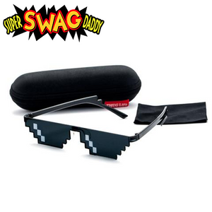 """Thug Life"" Pixel Limited Edition Sunglasses - Super Swag Daddy"