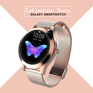 LeCouture Nova™ - Women's Luxury Galaxy Smart Watch  - Waterproof, Sleep Monitor, And Heart Rate Monitor