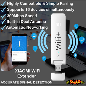 Xiaomi Wifi Extender | Wireless Repeater | Signal Booster- Signal Amplifier