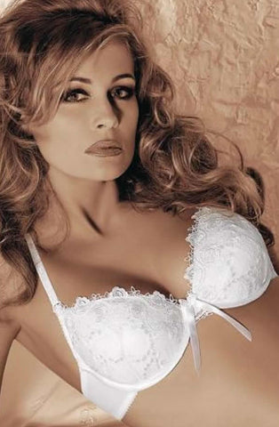 Roza Messenia White Bra