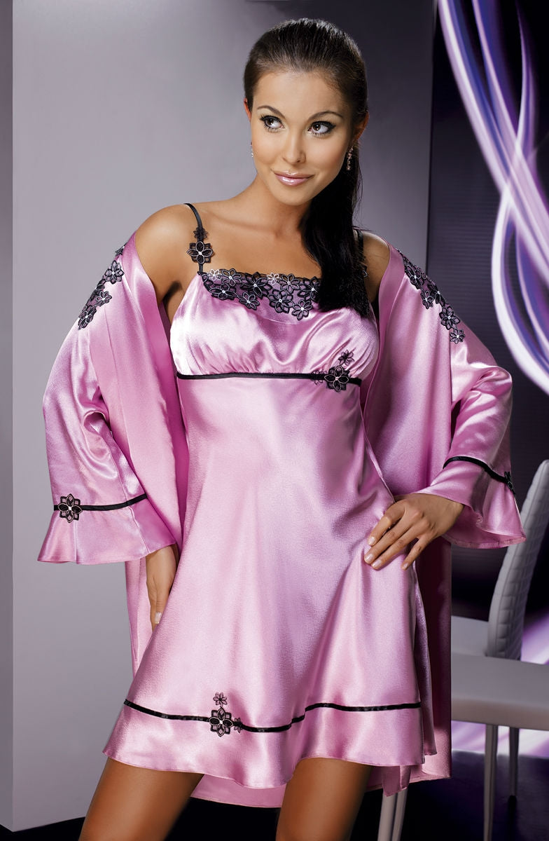 Irall Mirabelle II Dressing Gown Rose