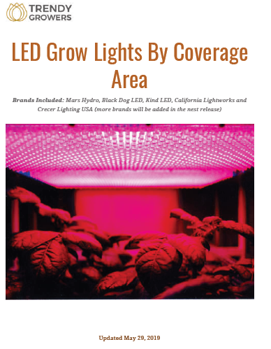 Guide - LED Grow Lights By Coverage Area