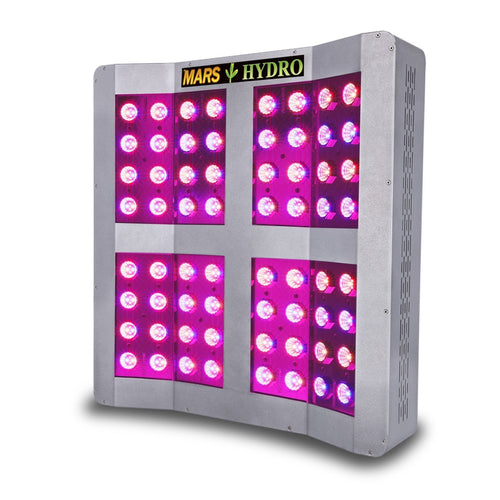Trendygrower.com - Mars Hydro Mars Pro II Cree 256 LED Grow Light Panel