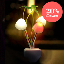 Load image into Gallery viewer, Mushroom Shaped LED Night Light
