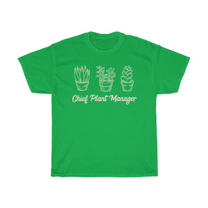 Chief Plant Manager - T- Shirt Unisex