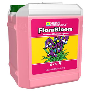 Trendyrgrower.com - General Hydroponics - Flora Bloom organic nutrients 2.5gal
