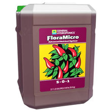 Load image into Gallery viewer, Trendygrower.com - General Hydroponics - Flora Micro organic nutrients 6gal