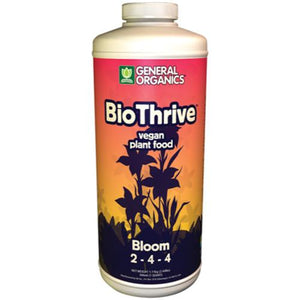 Trendygrower.com - General Organics - BioThrive Bloom organic nutrients 1qrt