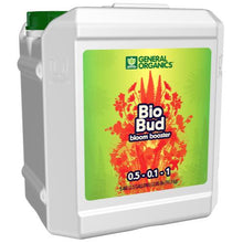 Load image into Gallery viewer, Trendygrower.com - General Organics - BioBud organic nutrients 2.5gal