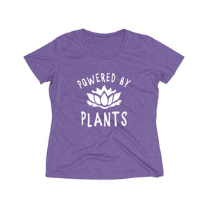 Powered by Plants - Women's T-Shirt