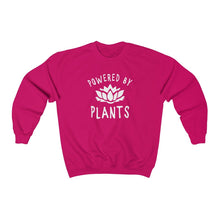 Load image into Gallery viewer, Powered by Plants - Unisex Crewneck Sweatshirt