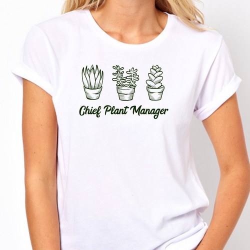Chief Plant Manager - T- Shirt Unisex Light