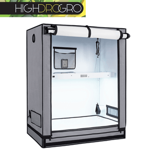 Official Highdrogro Dream Box Grow Tent for Indoor Hydroponic, Aeroponics Farming. With Front Opened.