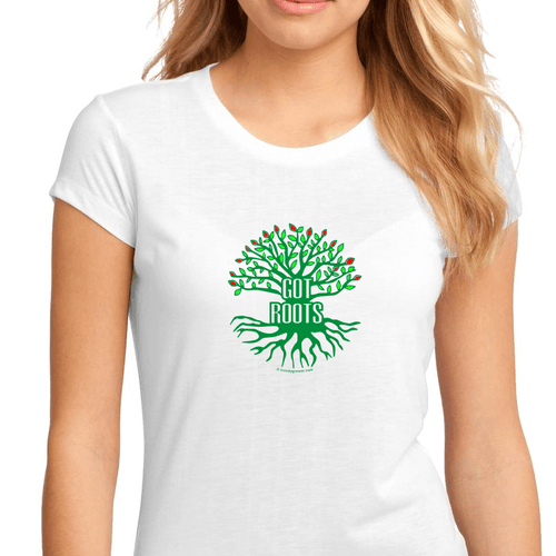 Trendygrower.com - Got Roots Plant Lover Nature T Shirts for Women Heavy Cotton