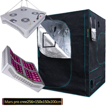 Load image into Gallery viewer, Trendygrower.com - Mars Hydro Grow Kit 5'x5' -Grow Tent + Mars Pro II Cree 256