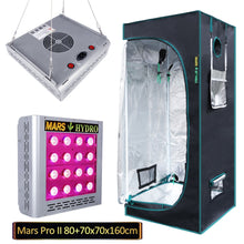 Load image into Gallery viewer, Trendygrower.com - Mars Hydro Grow Kit 2.3'x2.3' Grow tent + Mars Pro II Epistar 80