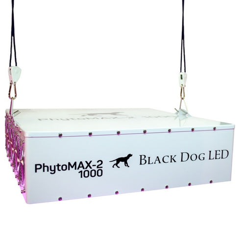 Trendygrower.com - Black Dog LED PhytoMAX-2 1000 LED Grow Lights