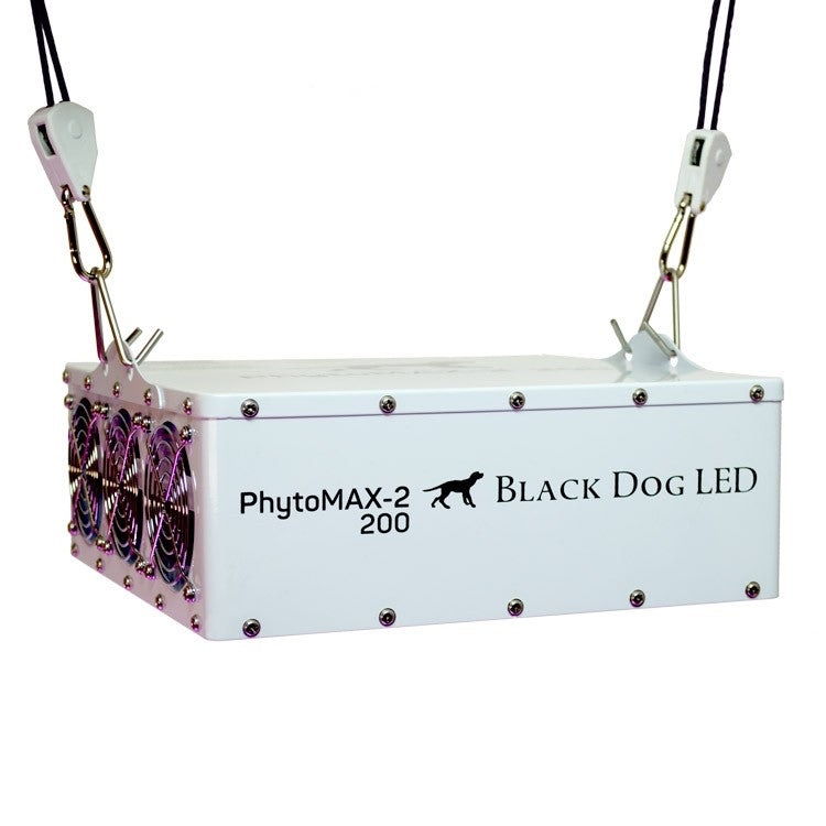 Trendygrower.com - Black Dog LED PhytoMAX-2 200 LED Grow Lights