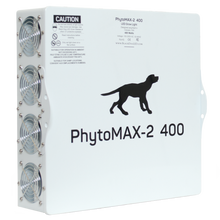 Load image into Gallery viewer, Trendygrower.com - Black Dog LED PhytoMAX-2 400 LED Grow Lights