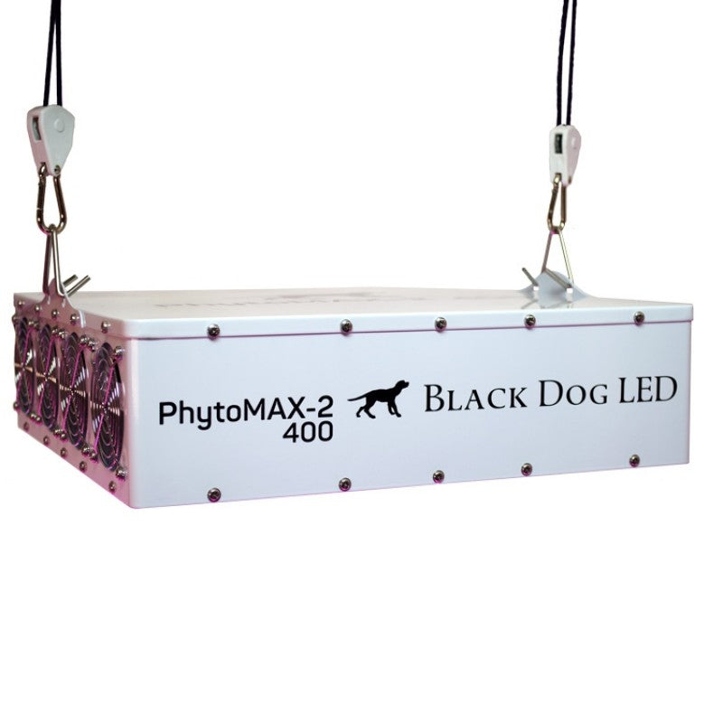Trendygrower.com - Black Dog LED PhytoMAX-2 400 LED Grow Lights